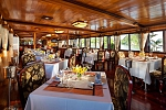 Dining room on Victory Cruise Halong Bay