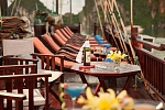 Sundeck on Victory Cruise Halong Bay