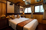 Double cabin on Victory Cruise Halong Bay