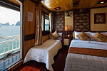 Triple cabin on Victory Cruise Halong Bay