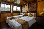 Twin cabin on Victory Cruise Halong Bay