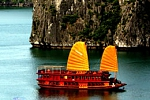 Ginger Cruises in Halong Bay, Vietnam