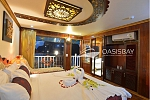 Double cabin on Oasis Bay Cruises Halong Bay